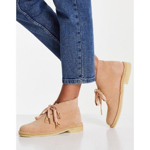 Desert boots en daim - Grège - Clarks Originals - Modalova