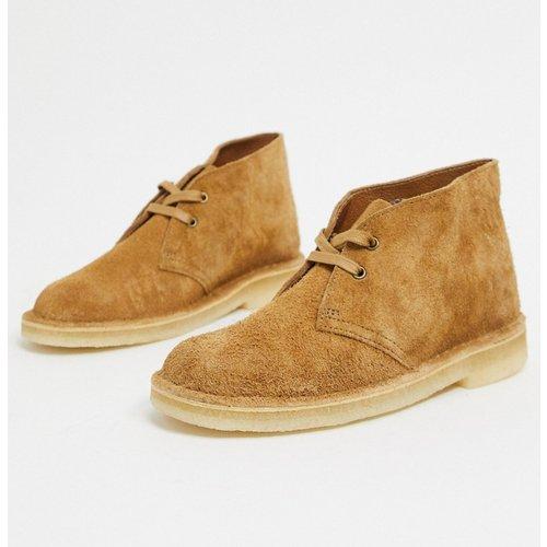 Desert boots en daim - Muscade - Clarks Originals - Modalova