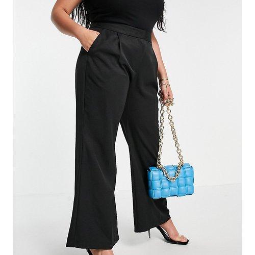 Pantalon évasé et ajusté coupe ample - Closet London Plus - Modalova
