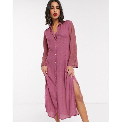 Closet - Robe chemise nouée sur le devant - closet london - Modalova