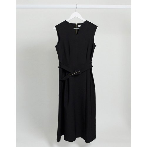 Closet- Robe mi-longue avec jupe portefeuille - closet london - Modalova
