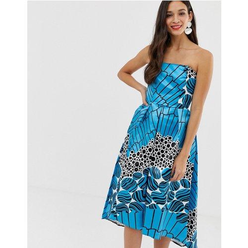 Closet - Robe sans bretelles-Bleu - closet london - Modalova