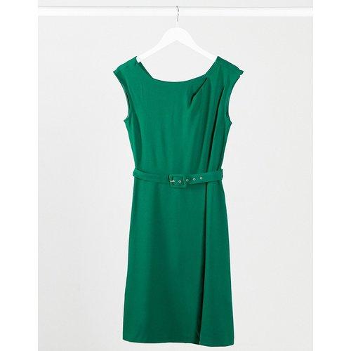 Closet- Robe trapèze avec jupe portefeuille - closet london - Modalova