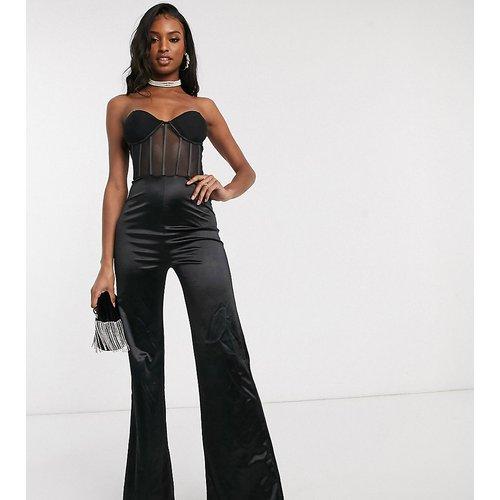 Combinaison à détail corset - Club L London Tall - Modalova