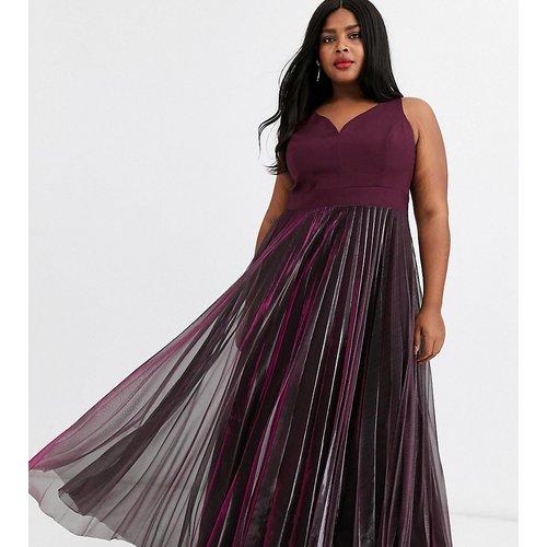 Violetta - Robe longue plissée à dos nu - Coast Plus - Modalova