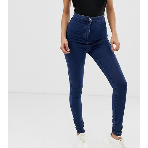Tall - x002 - Jean taille haute super skinny - délavé foncé - Collusion - Modalova