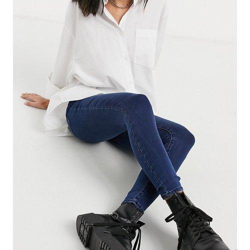X002 - Jean taille haute super skinny - délavé foncé - Collusion - Modalova