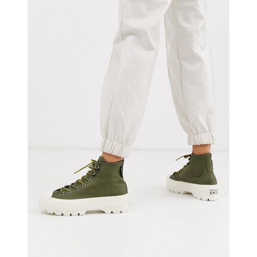 Chuck Taylor - Bottines style randonnée en cuir et Goretex avec semelle chunky - kaki - Converse - Modalova