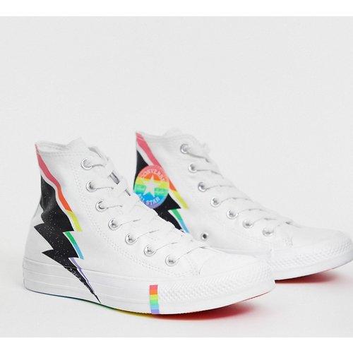 Pride - Chuck Taylor - All Star - Baskets montantes motif éclair - et arc-en-ciel - Converse - Modalova