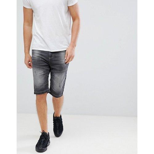 Short en jean - délavé - Crosshatch - Modalova