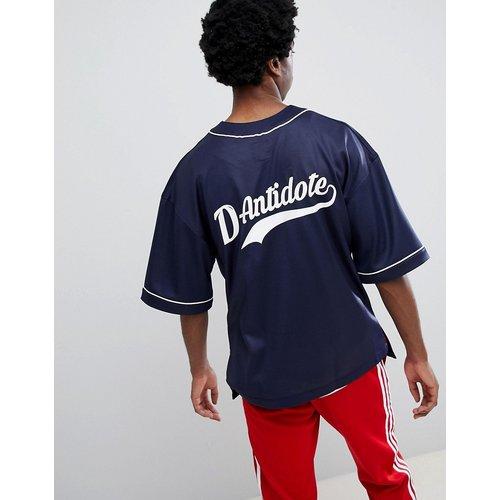 T-shirt de baseball oversize avec logo - D-Antidote - Modalova