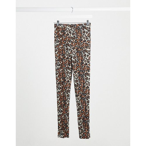 Leggings fendus imprimé léopard - daisy street - Modalova