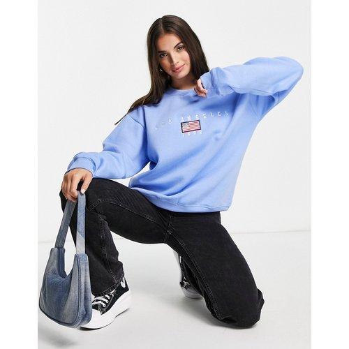 Sweat-shirt décontracté avec broderie vintage «los angeles» - daisy street - Modalova