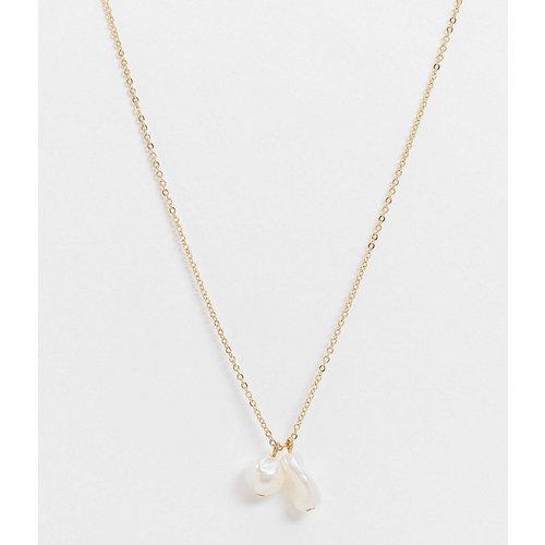 Exclusivité - Collier à deux perles - DesignB London - Modalova