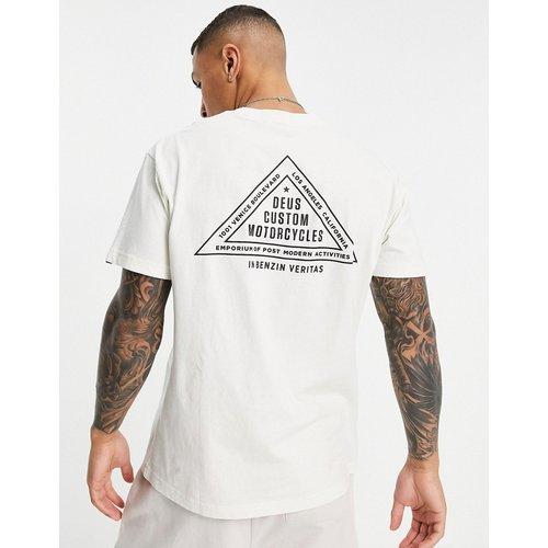 Roza - T-shirt avec imprimé triangle au dos - Deus Ex Machina - Modalova