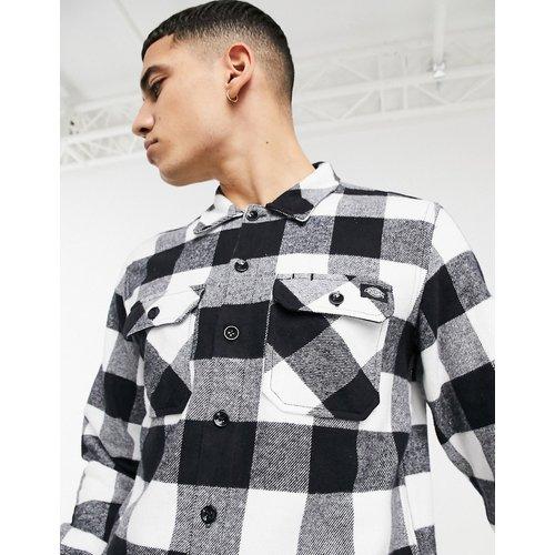 Chemise coupe décontractée à manches longues et à carreaux - /blanc - Dickies - Modalova
