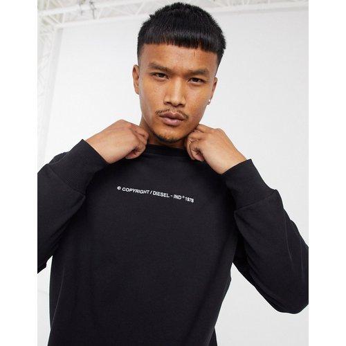 S-Biay-Copy - Sweat-shirt à logo copyright - Diesel - Modalova