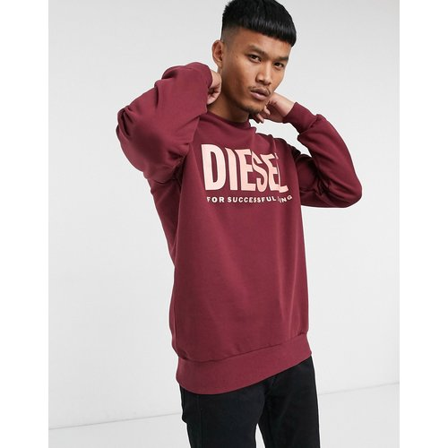 S-Gir-Division-Logo - Sweat-shirt à grand logo - Diesel - Modalova
