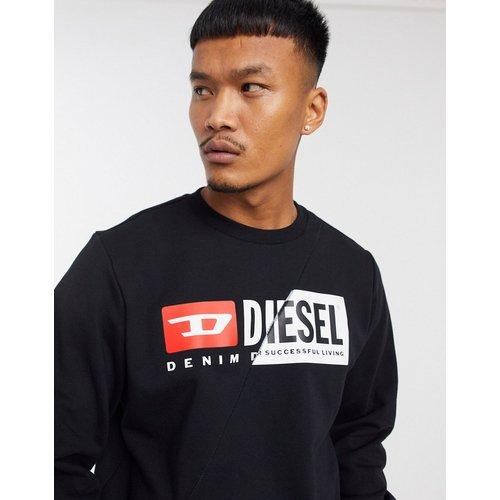S-Girk-Cuty - Sweat-shirt à logo contrasté - Diesel - Modalova