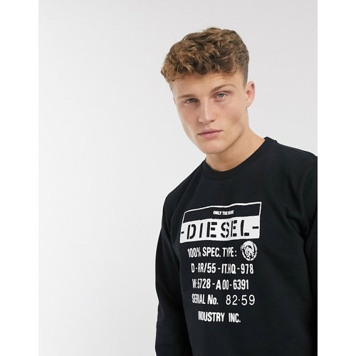 S-Girk-S3 - Sweat-shirt ras de cou à logo - Diesel - Modalova