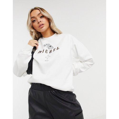 Sweat-shirt à logo motif python - Diesel - Modalova