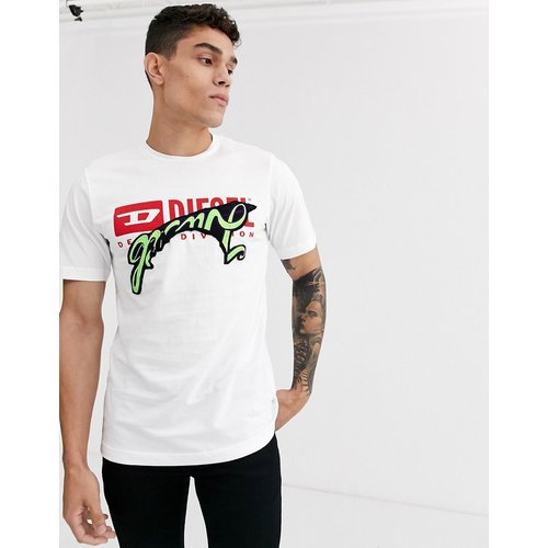 T-Diego-BX1 - T-shirt à logo avec broderie - Diesel - Modalova