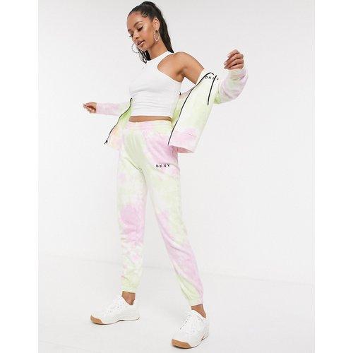 Jogger de sport effet tie-dye avec logo - Multicolore - DKNY - Modalova