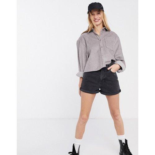 Jenn -Short mom taille ultra haute en jean - Dr Denim - Modalova