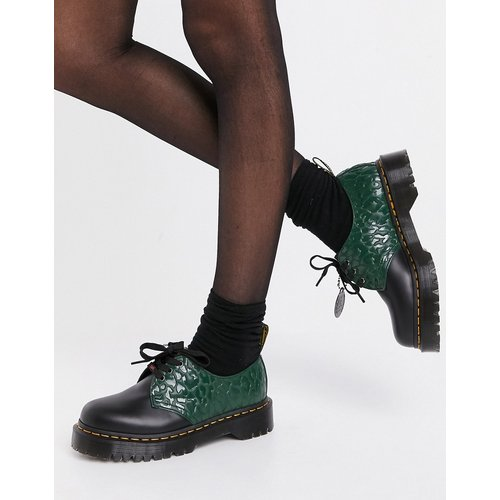 X X Girl - Chaussures plateforme épaisses à lacets avec logo - Dr Martens - Modalova