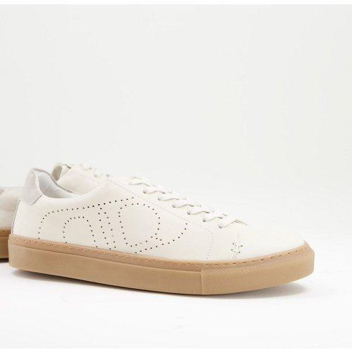 Eco - Baskets à lacets minimalistes en cuir - Dune - Modalova