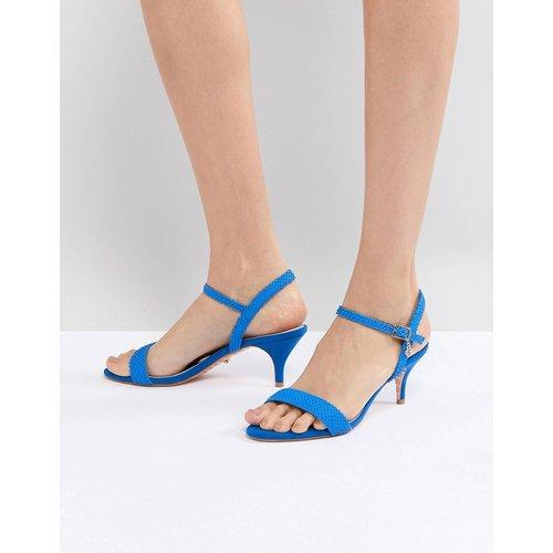 Sandales en deux parties à petits talons - vif - Dune - Modalova