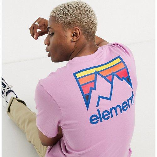 Joint - T-shirt - Lilas - Exclusivité ASOS - Element - Modalova
