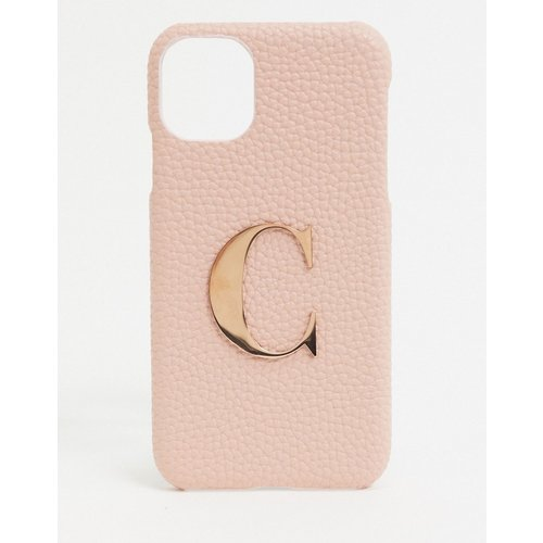 Coque détail lettre « C » pour iphone 11 / XR iphone - Elie Beaumont - Modalova