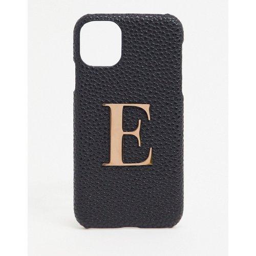 Coque pour iPhone 11/ iPhoneXR avec lettre E - Elie Beaumont - Modalova