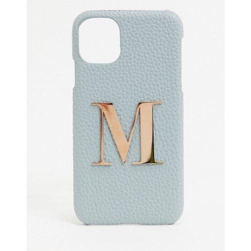 Coque pour iPhone11/ iPhone XR avec lettre M - Elie Beaumont - Modalova