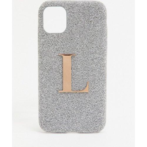 Coque pour iPhone11/ iPhoneXR avec lettre L - Elie Beaumont - Modalova