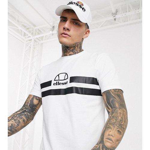 Loreno - T-shirt à rayures avec logo exclusivité ASOS - Ellesse - Modalova