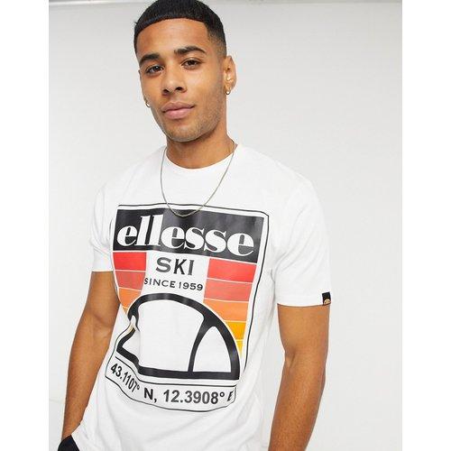T-shirt à logo ski rétro - Ellesse - Modalova