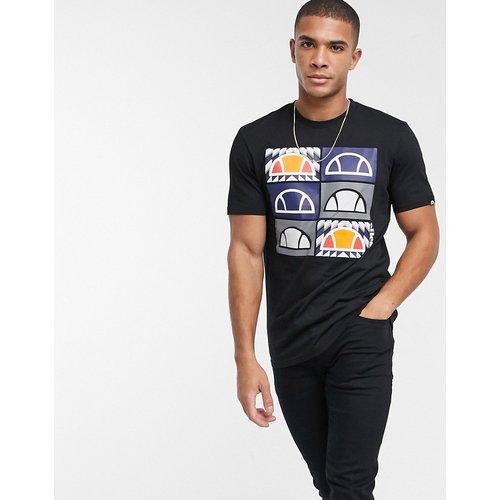 T-shirt rayé oversize - Bleu marine - Ellesse - Modalova