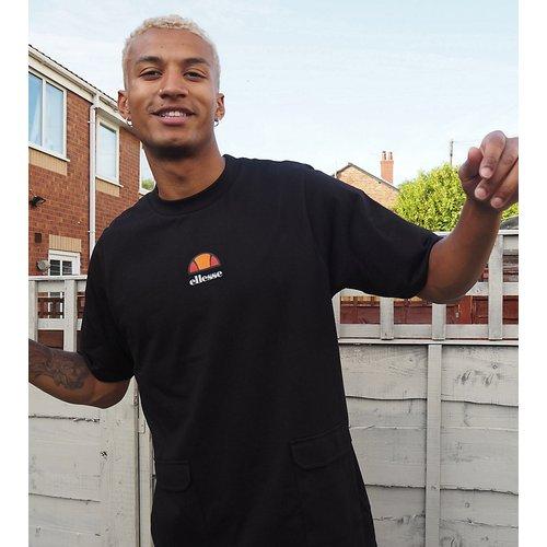 Veris -T-shirt oversize à poche fonctionnelle exclusivité ASOS - Ellesse - Modalova