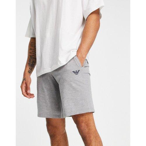Emporio Armani - Bodywear - Short en tissu éponge avec logo aigle - Emporio Armani Bodywear - Modalova