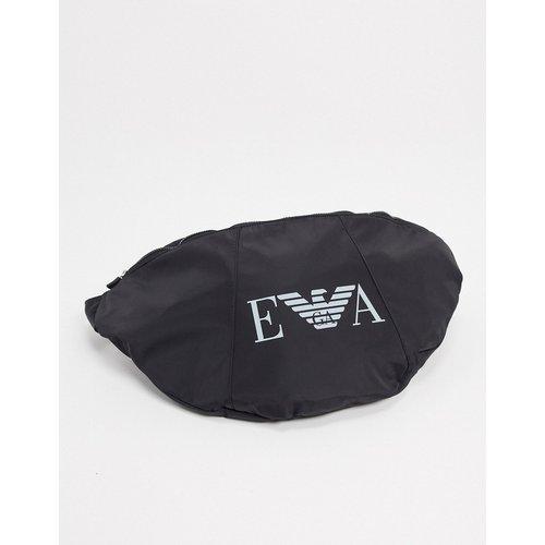 Grand sac bandoulière avec logo en EVA - Emporio Armani - Modalova