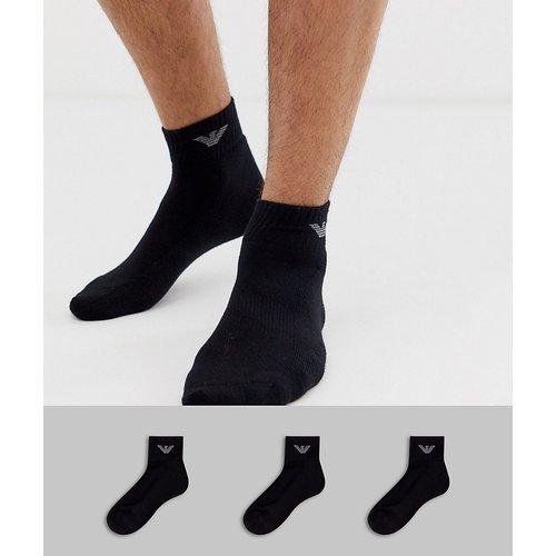 Lot de 3 paires de chaussettes de sport - Emporio Armani - Modalova