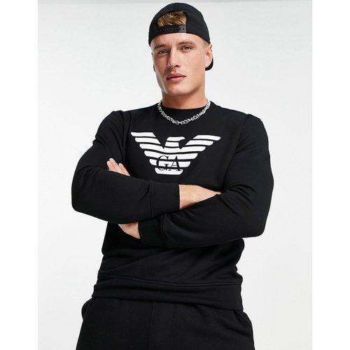 Sweat-shirt à logo aigle - Emporio Armani - Modalova