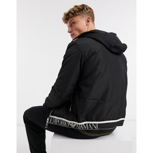 Veste à capuche avec logo - Emporio Armani - Modalova