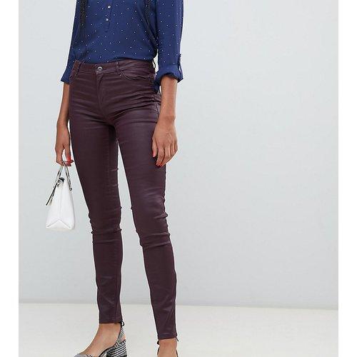 Esprit - Jean skinny enduit-Rouge - Esprit - Modalova