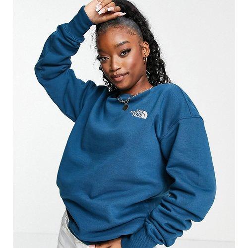 Exclusivité ASOS - - Essential - Sweat-shirt oversize - Bleu - The North Face - Modalova
