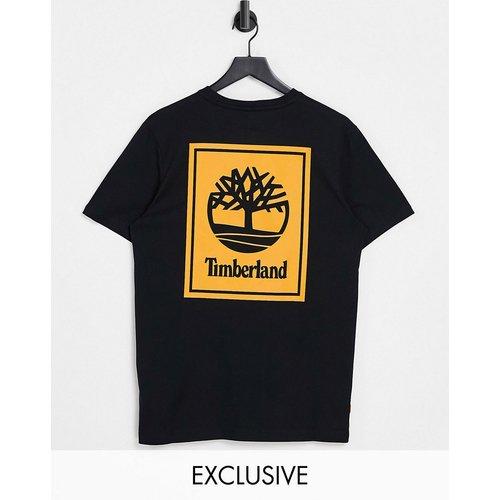 Exclusivité ASOS - - Stack - T-shirt avec imprimé au dos - /orange - Timberland - Modalova