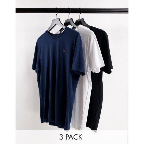 Benteen - Lot de 3t-shirts confort - Farah - Modalova