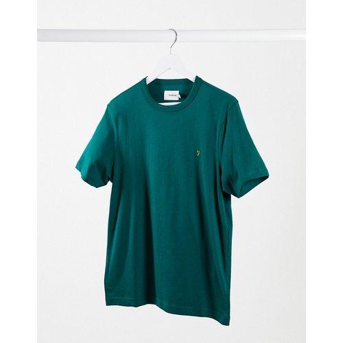Danny - T-shirt en coton biologique - foncé - Farah - Modalova